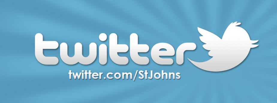 St. John's is On Twitter!