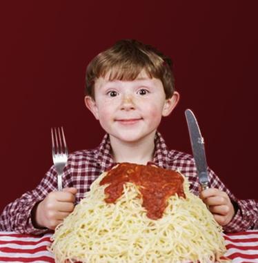spaghettidinnerplain