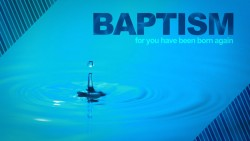 I Am Baptized!